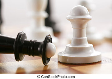 Pawn - Stock photo: an image of chess pawn