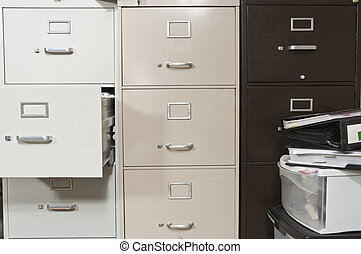Funky File Cabinets