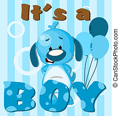 Its a boy - Greeting card Its a boy card