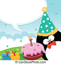 Happy Birthday - Penguins Birthday Message