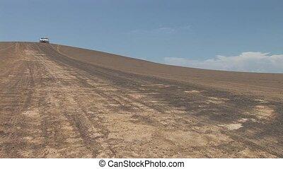 Car In Desert (Southamrica)