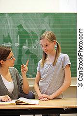 Pressure to perform by teachers in school-vertical- -...