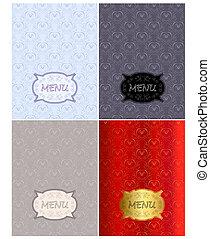 Menu  - Fancy menu vectors