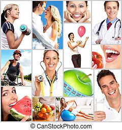 Health - People, health, diet, healthy nutrition, food,...