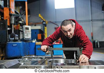 industry workers people in factory - engineering people...