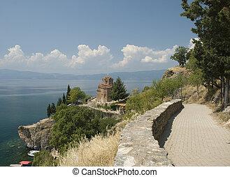 St Jovan Kaneo, Ohrid lake, FYR Macedonia