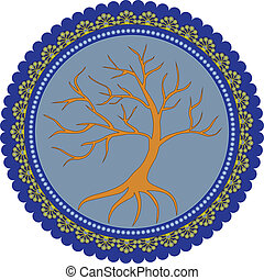 Tree of life - vector illustration of Tree of life