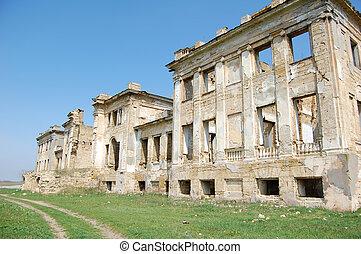 Old palace near Odessa, Ukraine