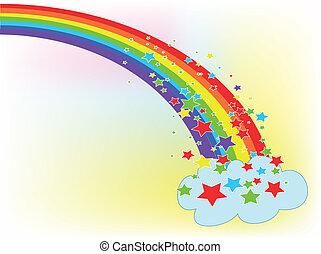 Rainbow,used mash