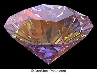 diamond on black path included