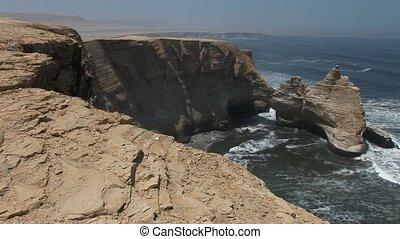 Kathedral Paracas, Peru. Before The Earthquake It destroyed....