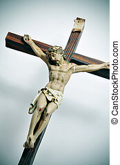 holy cross - a representation of Jesus Christ in the holy...