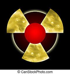 Radioactive Pollution - Atomic dust inside radioactive...