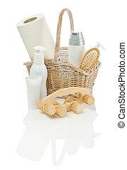 skincare, oggetti