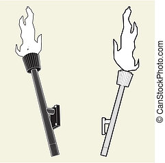 Medieval Wall Torch