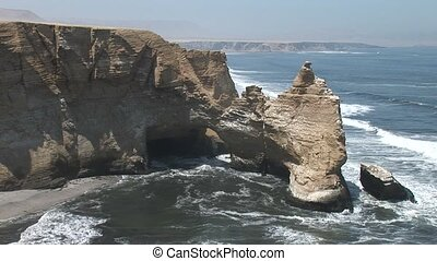 Kathedral Paracas, Peru Before The Earthquake It destroyed