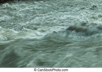The Mountain river 7 - The Powerful water flow mountain...