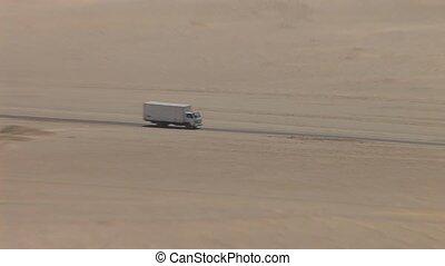 Truck In Desert - Peru