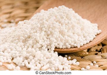 tapioca, perlas, blanco