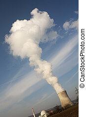 atomic reactor - water dust of atomic reactor