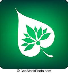 bodhi leaf - buddhism