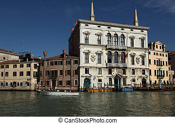 Palazzo Balbi Venice - the Palazzo Balbi on the Grand Canal...