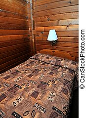 Single wooden bed - Single wooden and quaint bed in unique...