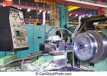 metal industy factory indoor - industry factory iron works...