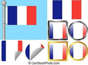 Flag Set France