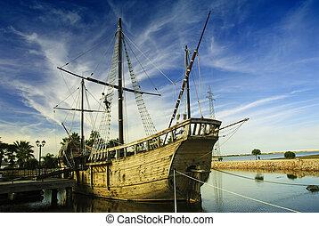 statek, marynarz