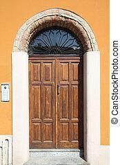 Piacenza, Italy - Emilia-Romagna region. Colorful...