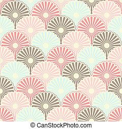 Seamless pattern - Seamless japanese vintage pattern