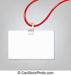 Blank Badge - Empty Blank Badge, Vector Illustration