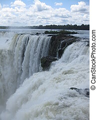 Iguazu Falls - Waterfall from the Argentinan side