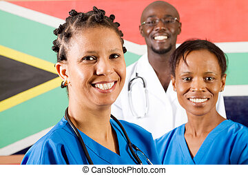 south african medical workers - group of south african...