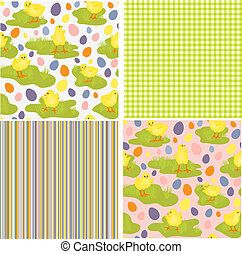 Cute collection of Easter patterns