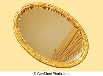 Gold Frame - Good old gold plated frame