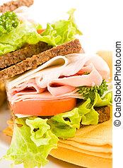 Cheese and Ham Sandwich 2