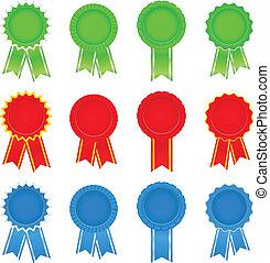 Vector Award Ribbons