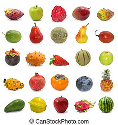 fruits, collection