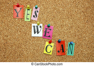 Yes We can pinned on noticeboard