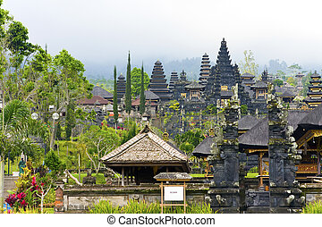 """The most big temple complex, """"mother of all temples """". Bali,Indonesia. Besakih."""