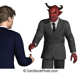 Should you Trust this Guy? - An unsuspecting businessman is...
