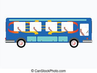 The passenger bus - The passenger bus, for transportation of...