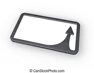 frame border with arrow