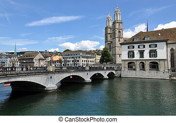 Zurich downtown