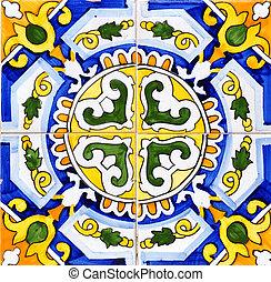 keramisk, spansk