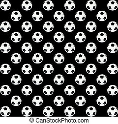 black and white soccer ball - texture, background, black and...