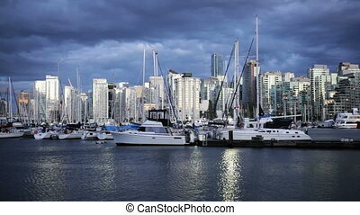 Vancouver Harbor - Boat marina in Vancouver, BC