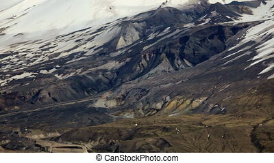 Mt. St. Helens - View of the mountain and volcano, Mt. St....